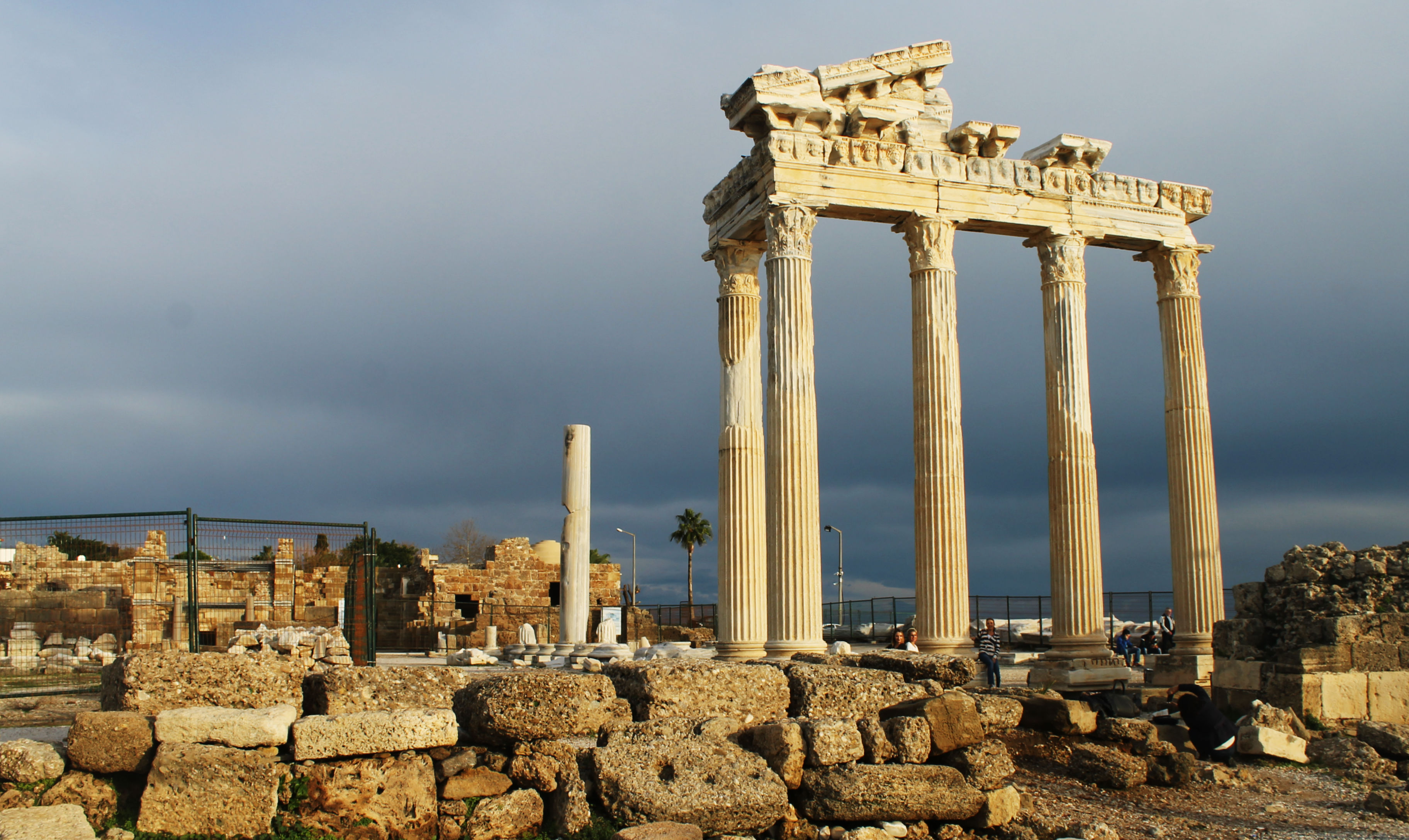 Side and Aspendos in December - Luxury Turkey Tours and ...