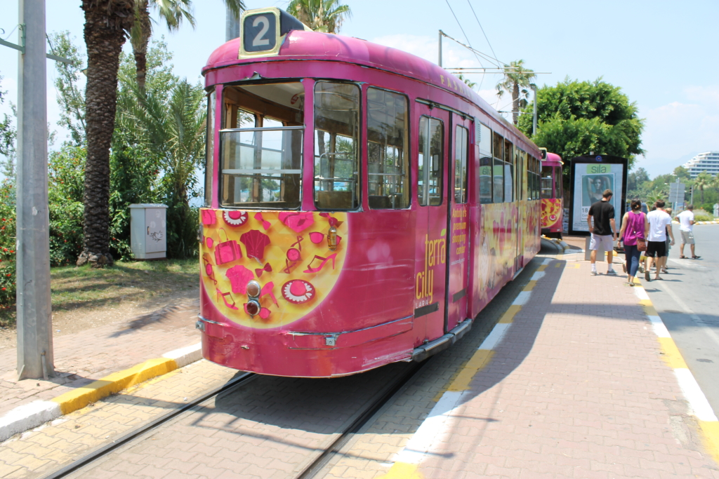 Tram line from The Old City
