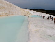 Pamukkale 2015 - Walk up Pools